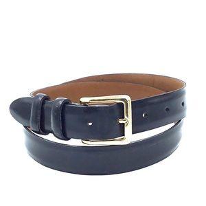 Cole Haan Black Leather Belt Size 36 A2026